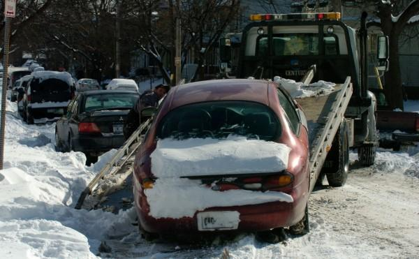Snow & ice towing Brooklyn NY